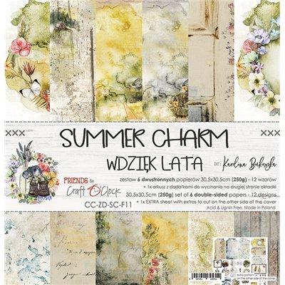 Summer Charm - papírkészlet 30,5x30,5cm