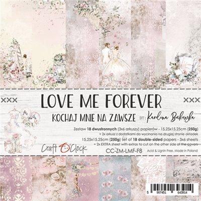 Love Me Forever - papírkészlet 15,25x15,25cm