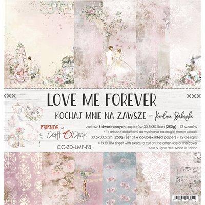Love Me Forever - papírkészlet 30,5x30,5cm