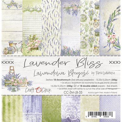 Lavender Bliss - papírkészlet 15,25x15,25cm