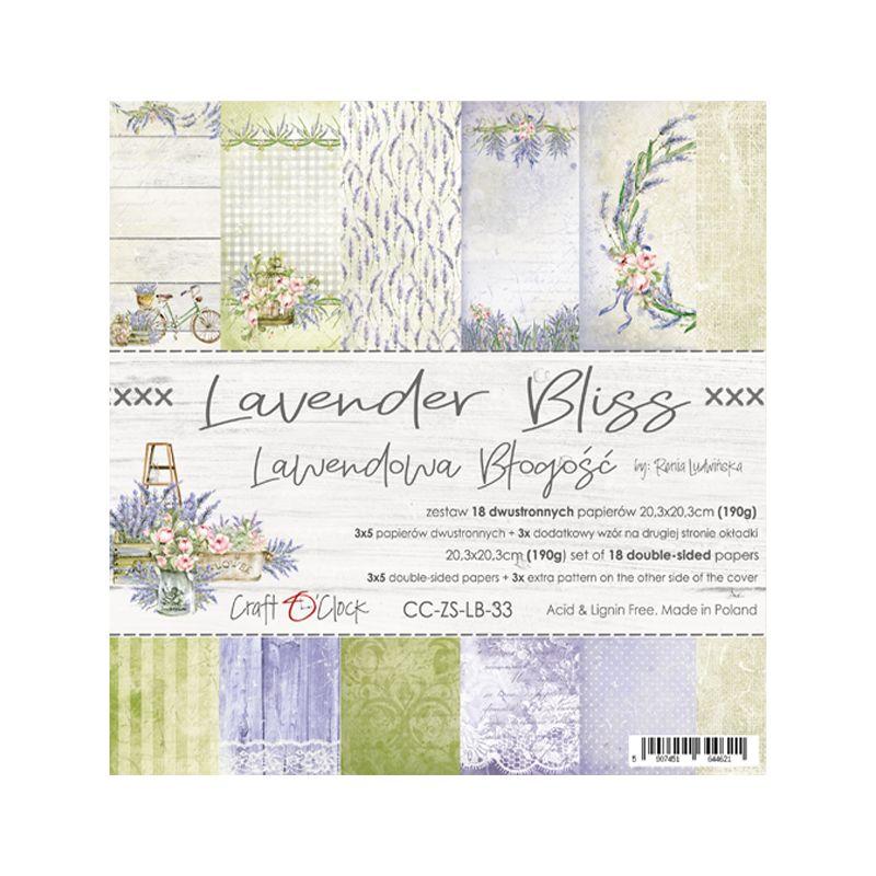 Lavender Bliss - papírkészlet 20,3x20,3cm