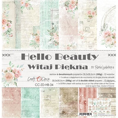Hello Beauty - papírkészlet 30,5x30,5cm