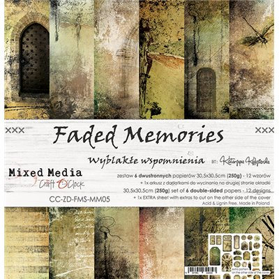 Faded Memories - papírkészlet 30,5x30,5cm
