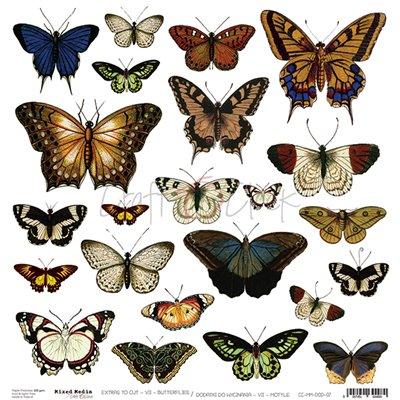Butterflies - kivágóív