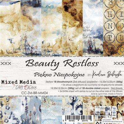 Beauty Restless - papírkészlet 15,25x15,25cm