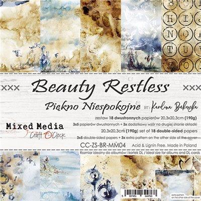 Beauty Restless - papírkészlet 20,3x20,3cm