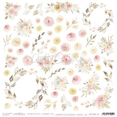 Flowers - XIV kivágóív