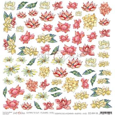 Flowers - XVIII kivágóív