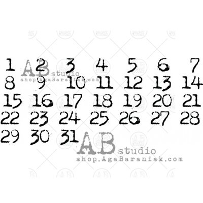 Gumibélyegző - ID-767 calendar