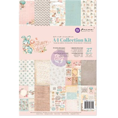 Prima - Heaven Sent A4 Collection Kit