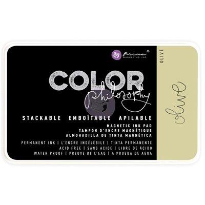 Color Philosophy Permanent tintapárna - Olive