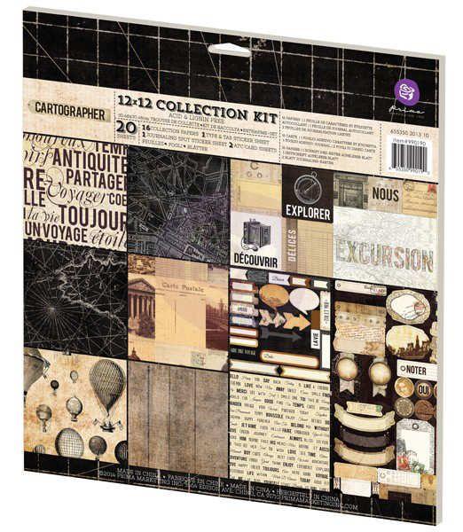 """Cartographer - 12x12""""-es mini scrapbook kollekció"""