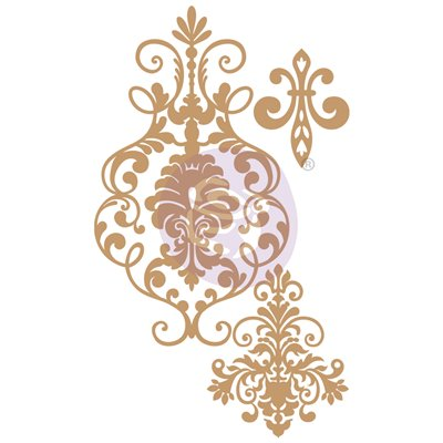 CHIPBOARD – ELEGANT DAMASK – 3 db