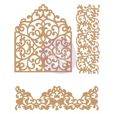 CHIPBOARD – IN THE GARDEN – 3 PC