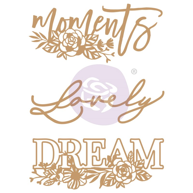CHIPBOARD – WORDS TO LIVE BY II – 3 db