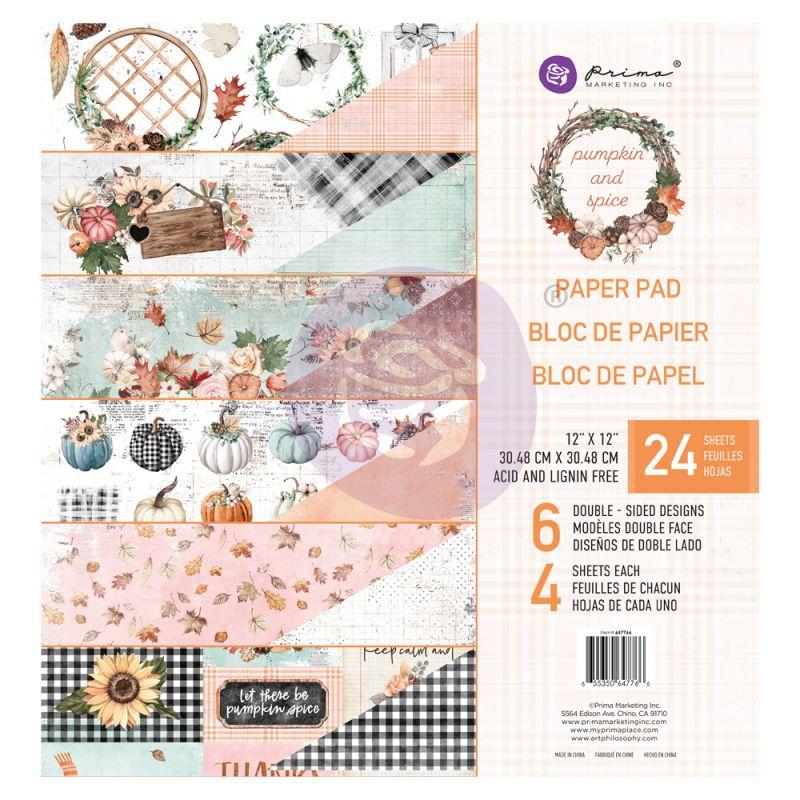 PUMPKIN & SPICE MAXI KOLLEKCIÓ 12×12 PAPER PAD – 12 lap