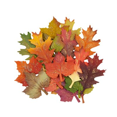 PRIMA FLOWERS® PUMPKIN & SPICE KOLLEKCIÓ – FALL LEAVES – 18 db