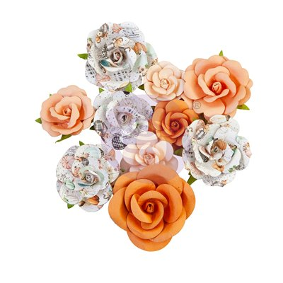 PRIMA FLOWERS® PUMPKIN & SPICE KOLLEKCIÓ – ORANGE SUNSET – 10 db
