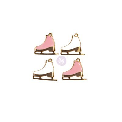 SUGAR COOKIE CHRISTMAS KOLLEKCIÓ METAL CHARMS – SKATES – 4 Pdb