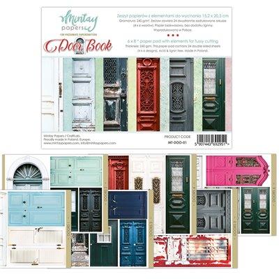 """Door Book - 6""""x8""""-as kivágóív kollekció"""