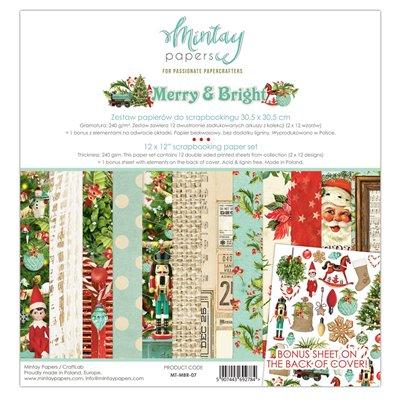 """Merry & Bright - 12""""x12""""-es maxi kollekció"""
