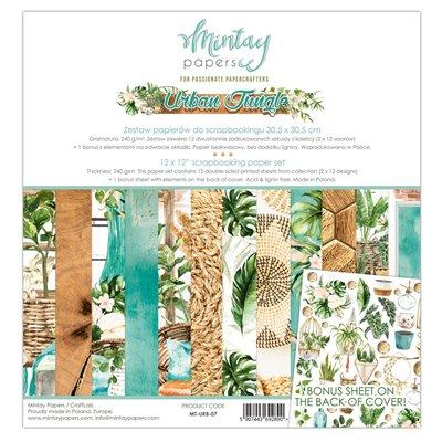 """Urban Jungle - 12""""x12""""-es maxi kollekció"""