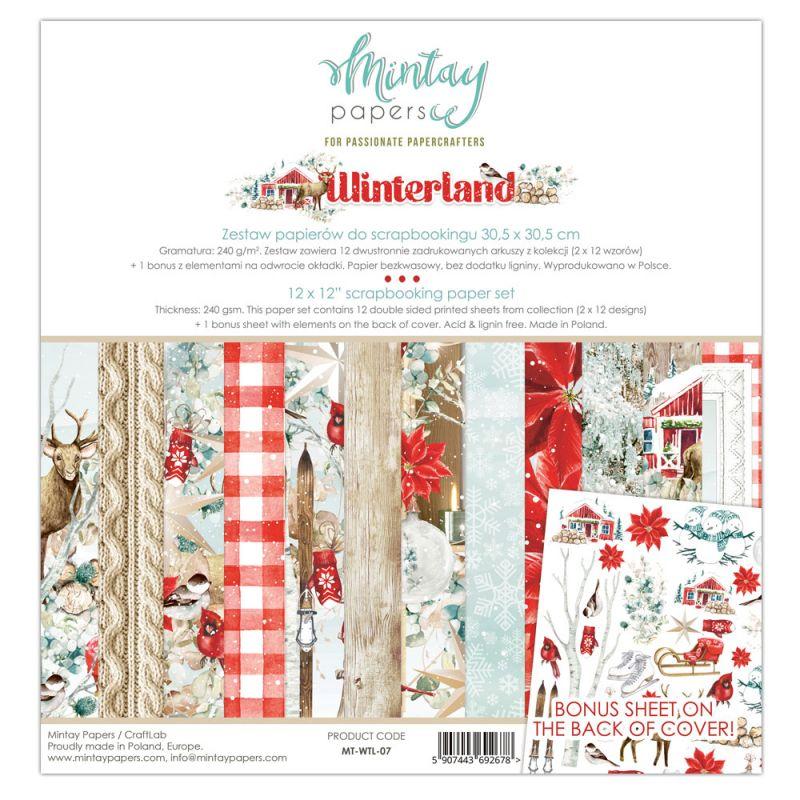 "Winter Land - 12""x12""-es mini kollekció"