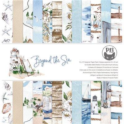 """Beyond the Sea - 12""""-es mini kollekció (6 db 2 oldalas papír + 1 db kivágóív)"""