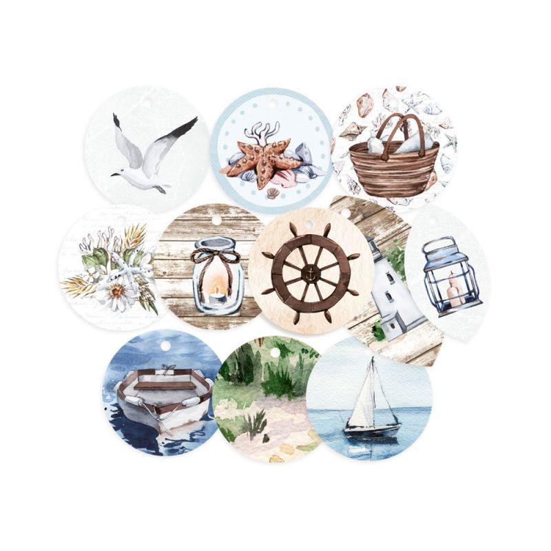 Beyond the Sea - dekorációs címkék 01 - 11 db