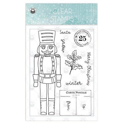 The Four Seasons - Winter polimer bélyegző 01 (10,5 x 14,8cm)