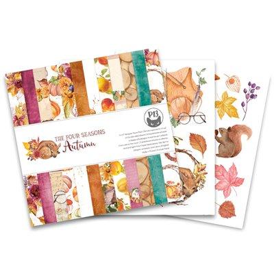 """The Four Seasons - Autumn 6""""-es kollekció (24 db 2 oldalas papír + 2 db kivágóív)"""