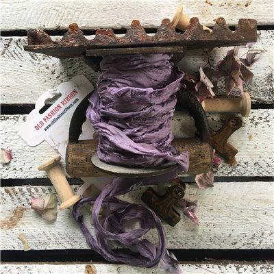 Old Fashion szatén szalag - violet/ibolya