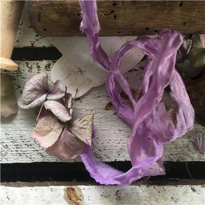 Old Fashion szatén szalag - lavender/levendula