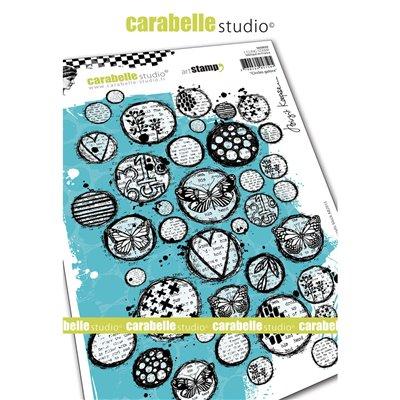 Carabelle gumibélyegző - Circles galore