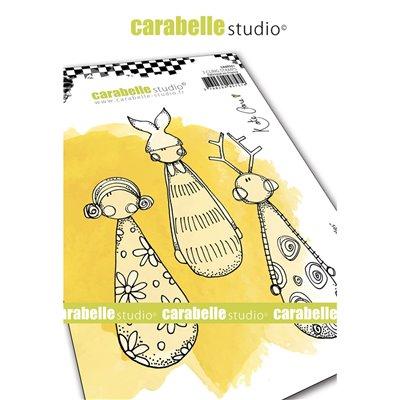 Carabelle gumibélyegző - Little skittles