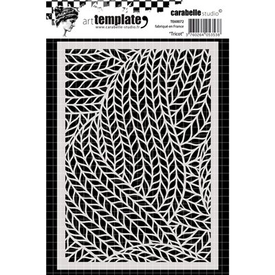 Carabelle Stencil - Tricot