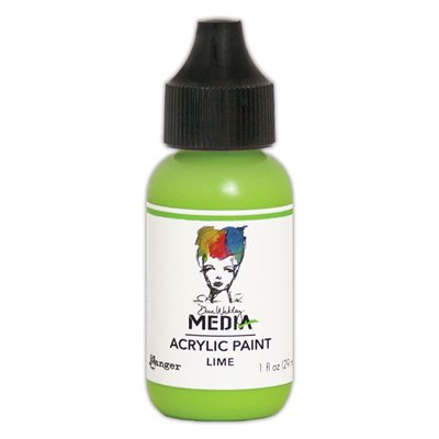 Dina Wakley Media Acrylic Paint - lime