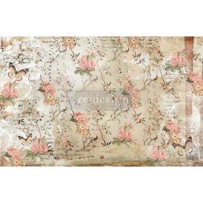 Re-Design Decoupage Décor Tissue - Botanical Imprint