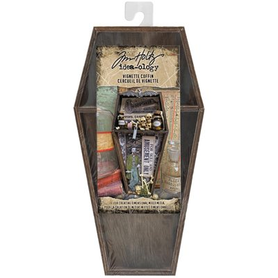 Tim Holtz - Idea-Ology Wooden Vignette Coffin Tray