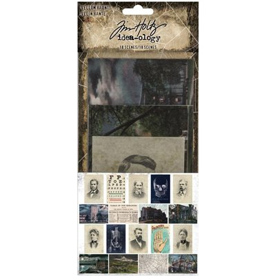 Tim Holtz - Idea-Ology Vellum Haunts (18db)