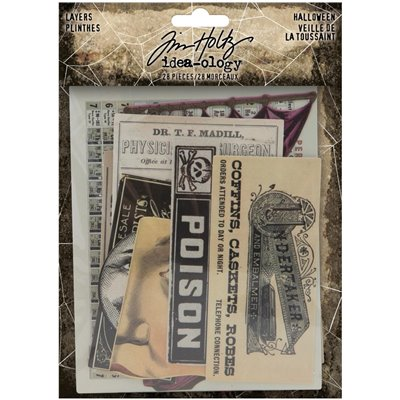Tim Holtz - Idea-Ology Layers (28db)