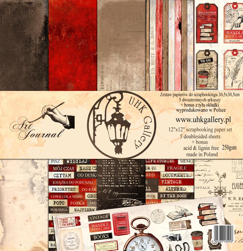 Art Journal 12x12 kollekció
