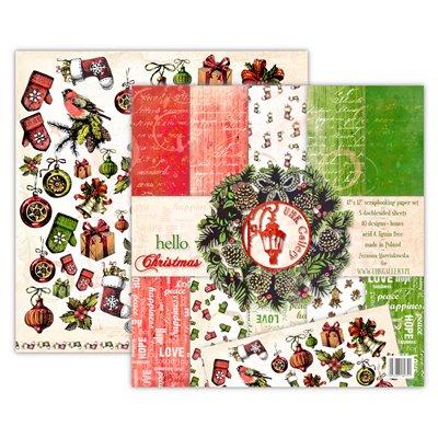 Hello Christmas kivágóív