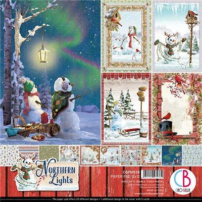 "Northern Lights kollekció 12""x12"""