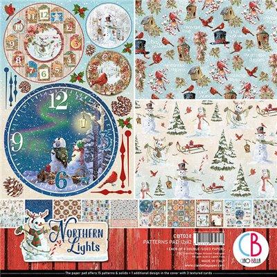 "Northern Lights Patterns Pad 12""x12"""