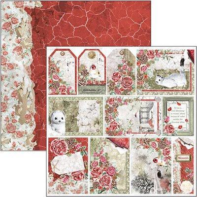 """Frozen Roses Frames & Tags 12""""-es papír"""