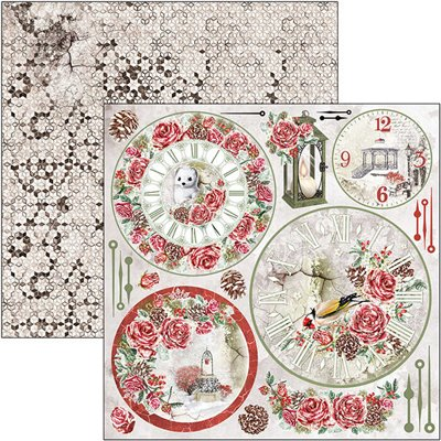 """Frozen Roses Patterns Pad 12""""x12"""""""