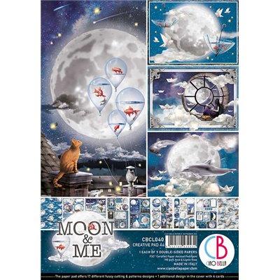 Moon & Me Creative Pad A4