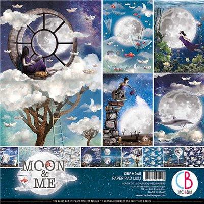 """Moon & Me kollekció 12""""x12"""""""