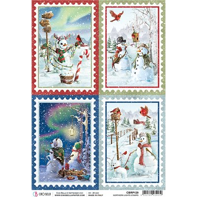Rizspapír A4 - Northern Lights Stamps